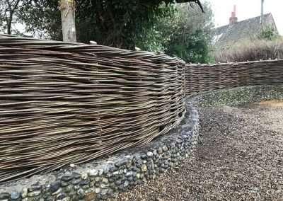 Willow-Fence_Flint_Wall_Norfolk